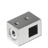 Ригеледержатель под квадратный ригель DC002-10×10