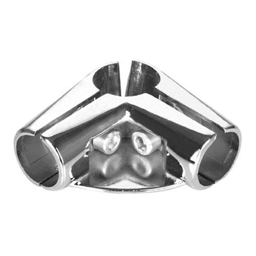 Соединитель для труб двухплечевой с креплением U