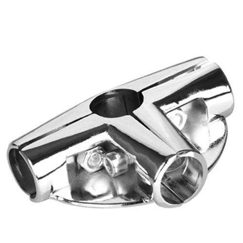 Соединитель для труб трехплечевой с креплением U